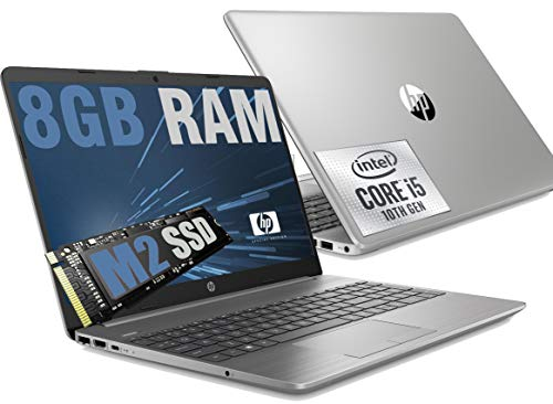 Notebook HP i5 250 G8 Silver Portatile Full HD 15.6  Cpu Intel Quad core i5-1035G1 10Th Gen 3,6Ghz  Ram 8Gb DDR4  SSD M2 256GB  graphic Intel UHD  Hdmi RJ-45 Wifi Bluetooth  Windows 10 64Bit
