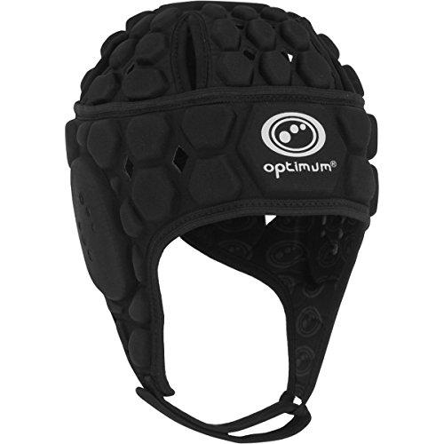 Optimum Atomik Rugby Kopfschutz [schwarz], schwarz, L