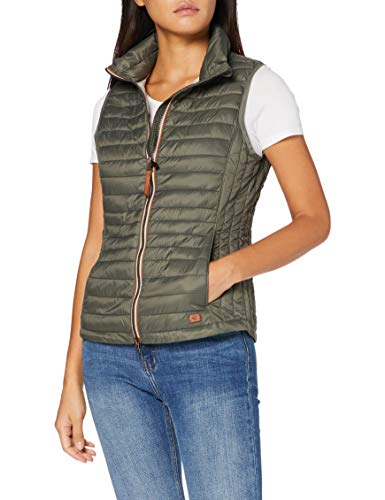 Camel Active Womenswear Damen 3602509E5034 Jacke, Khaki, 46