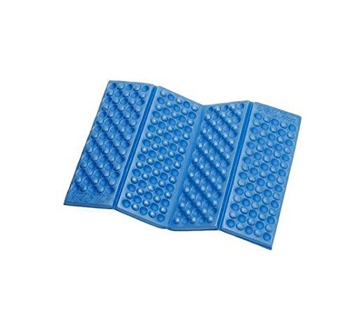 Fendii umidità Pad Alpinismo Esterna Portatile di Schiuma Piccolo Mat Ultraleggero Impermeabile, Blue, 40 * 28CM