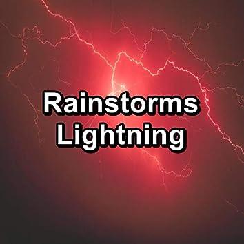 Rainstorms Lightning