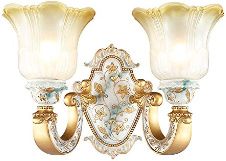 Lampe Wandlampe Wohnzimmerlampe Schlafzimmer Nachttischlampe Ganglampe, Doppelkopf