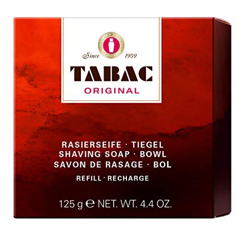 Tabac® Original | Rasierseife im Tiegel - ermöglicht leichte und gründliche Rasur - Original Seit 1959 | 125g