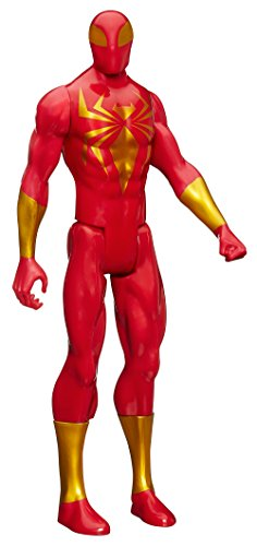 Marvel Ultimate Spiderman Web Warriors Iron Spider Action Figure