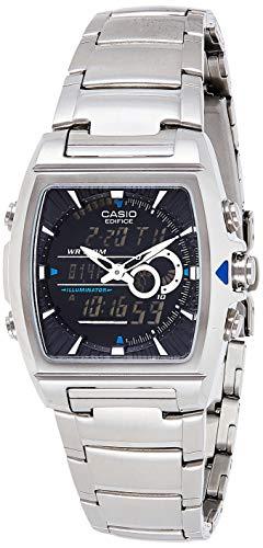Casio Edifice Herren Massives Edelstahlgehäuse und Edelstahlarmband Uhrenarmband EFA-120D-1AVEF