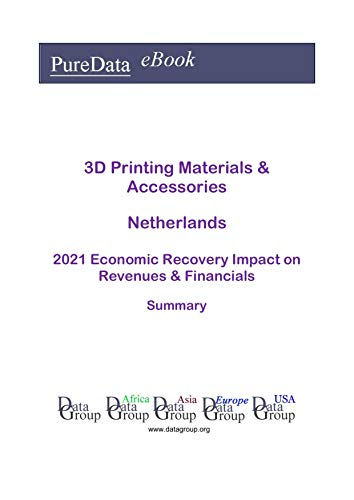 3D Printing Materials & Accessories Netherlands Summary: 2021 Economic Recovery Impact on Revenues & Financials