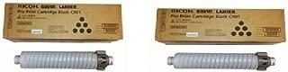 2 Pack Of Genuine Ricoh Brand Black Toner Cartridge For Ricoh Pro C901S C901 828249 828181 828124 TYPE C901