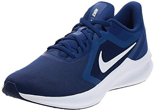 Nike Downshifter 10 Mens Running Trainers CI9981 Sneakers Shoes (UK 11 US 12 EU 46, deep Royal Blue White 401)
