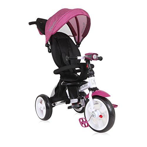Lorelli 10050410009 driewieler schaalbaar voor baby/kinderen Enduro roze