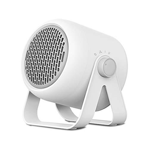 WZCXYX Calentador Eléctrico Portátil De Escritorio Calentador De 3 Bloques Mini Calentador Silencioso Ahorro De Energía Y Ahorro De Energía Dormitorio En Casa(Color:Blanco)