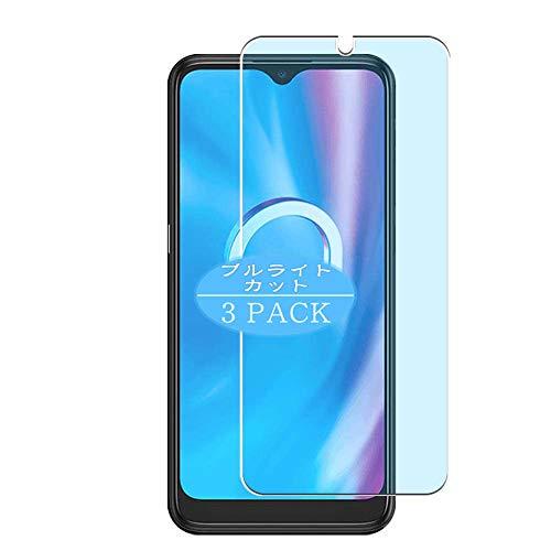VacFun 3 Piezas Filtro Luz Azul Protector de Pantalla, compatible con Alcatel 1SP (2020), Screen Protector Película Protectora(Not Cristal Templado)