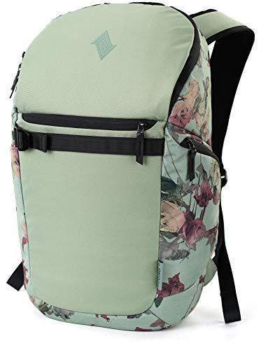 Nitro Nikuro, Daypack, Alltagsrucksack, Schulrucksack, Sportrucksack, Laptopfach, 26 L, Dead Flower