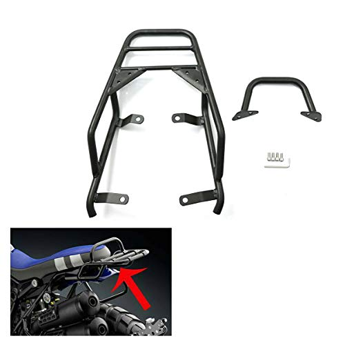 COPART Motorcycle Rear Luggage Rack with Hand Grip Rail Bar For BMW R NINE T Pure Racer Scrambler 2014 2015 2016 2017 2018