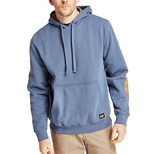 Timberland PRO Men's A115D Hood Honcho Pullover - Large - Vintage Indigo