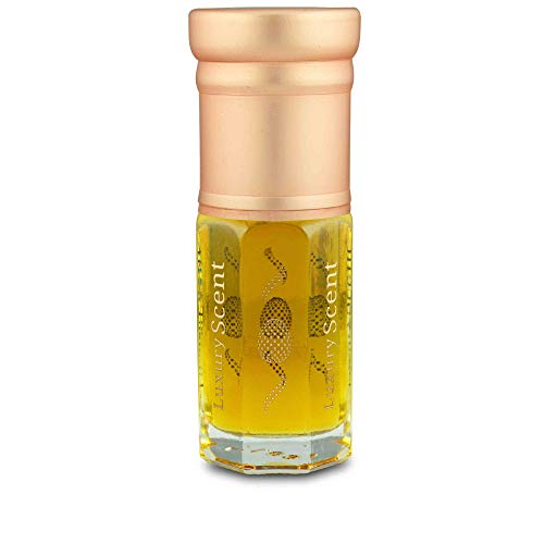 Luxury Scent Olio profumato fresco all'ambra e rosa di Taif, 3 ml, fragranza orientale, qualità  di grado A, Attar