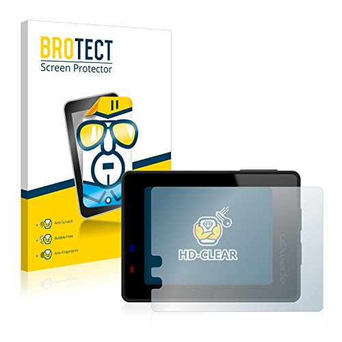 BROTECT Schutzfolie kompatibel mit Apeman Trawo 4K (2 Stück) klare Displayschutz-Folie