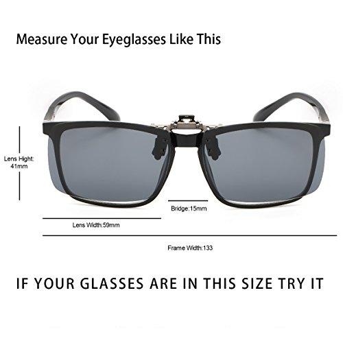 ELIVWR 2 Pezzi Occhiali da Sole Polarizzati