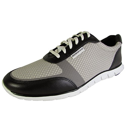 Cole Haan Womens Zerogrand Classic Sneaker Shoes, Silver/Black/White, US 11