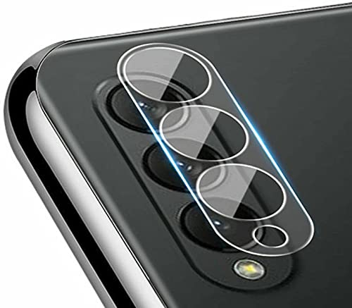 WEFR for Samsung Galaxy Z Fold 3 Camera Lens Tempered Glass Film Screen Protector, Premium Flexible HD Clear Film Anti-Scratch Anti-Fingerprint Anti- Greasy (10 PCS)