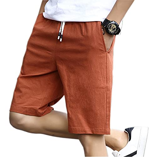 Shorts Kurze Herren Hose Neueste Casual Shorts Herren Modestil Herren Shorts Strandshorts Atmungsaktive Strand Boardshorts Herren Jogginghose XXL Braun