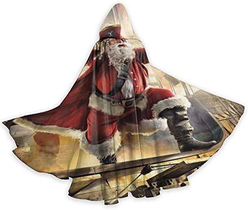 Romance-and-Beauty Halloween Wizard Witch Tnica con Capucha Capa Sudaderas con Capucha de Navidad Capa Cosplay para-Black18-