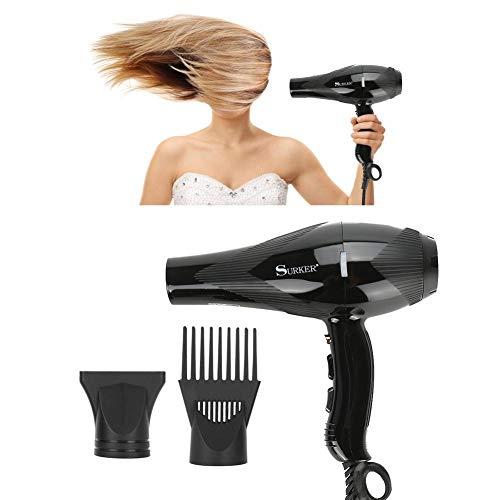 Secador de pelo con difusor 3000W, 3 niveles de temperatura y 2 velocidades Secador de pelo Soplador de aire frío y caliente Secador...