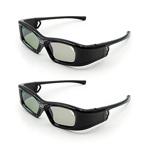 Docooler GL410 - Gafas 3D para proyector Full HD Active Link DLP...