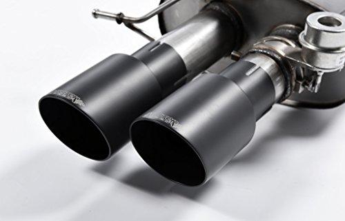 Sport uitlaat Milltek SSXBM1017 installatie vanaf KAT | DPF (EG/EWG). Compatibel met: M5 (441 kW / 600 PS) | HSN: 7909 | TSN: ABI | M5 Limousine (F10/F11) 4-deurs sedan