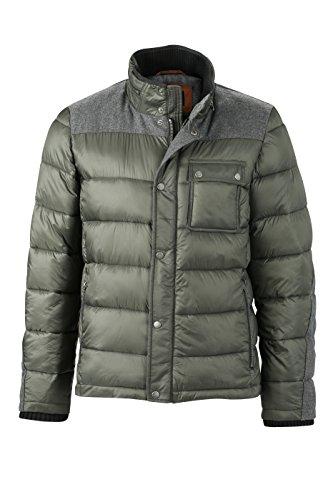 James & Nicholson Herren Jacke Jacke Winter Jacket grün (Pine-Green) Large