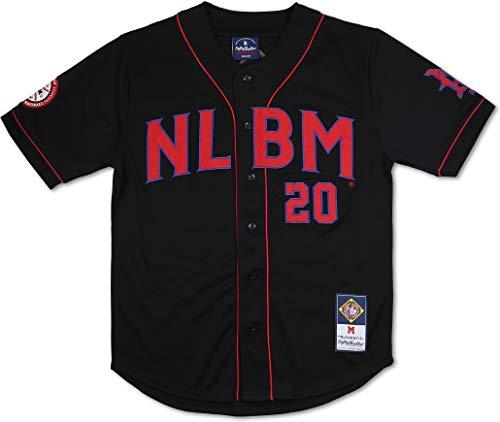 Cultural Exchange Big Boy Negro League Commemorative S7 Mens Baseball Jersey [Black - 2XL]