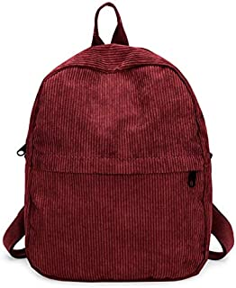 DingXiong Women Backpack Preppy Suede Backpacks Girls School Bags Vintage Travel Bag Female Burgundy Gray Black