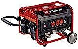 Einhell Generador eléctrico (gasolina) TC-PG 35/E5 (máx. 3100 W, motor de 4 tiempos con bajas...