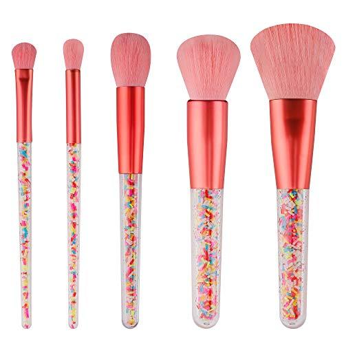 Make-up Pinsel Set Kosmetikpinsel Süßigkeiten Schminkpinsel Rouge Lidschatten Loses Pulver Markieren Schatten Bürste 5 Stück