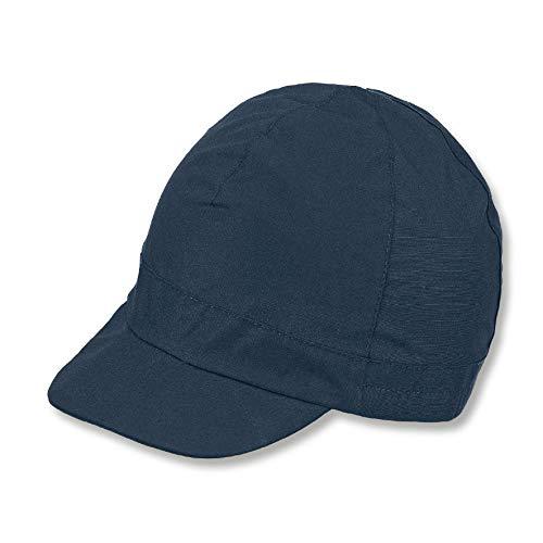 Sterntaler Schirmmütze für Jungen, Alter: 4-6 Jahre, Größe: 55, Blau (Marine)