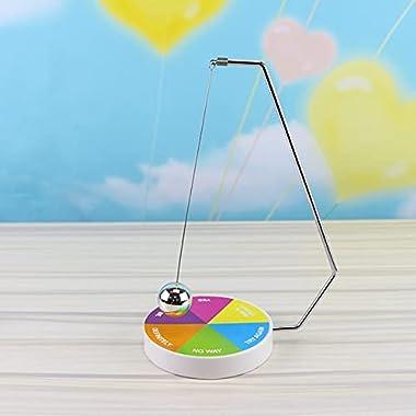 Magnetic Decision Maker, Darkduke Ball Pendulum Swing, Fortune Makers Decisions Game, Novelty Gift Magnetic Desk Toys, Fun De
