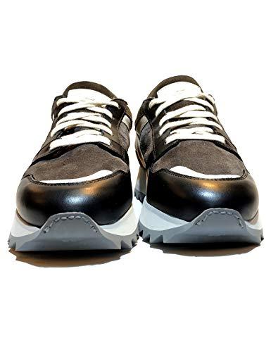SANTONI Damen Sneaker, Mehrfarbig - mehrfarbig - Größe: 37.5 EU