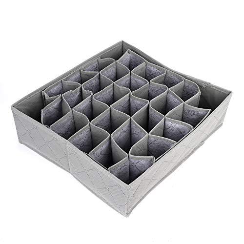 Caja de Almacenamiento de Ropa Interior, Divisor Organizador de cajones Hecho de Tela no Tejida Tela no Tejida de diseño Plegable Ligero