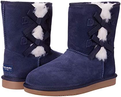 Koolaburra by UGG Girls Victoria Short Fashion Boot Insignia Blue 4 Little Kid product image