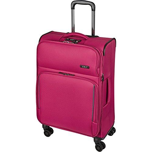 D&N Travel Line 7904 Koffer, 69 cm, 80L, Pink
