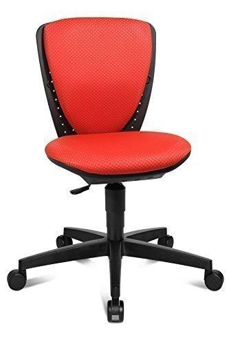 moebel-action Topstar Kinder Drehstuhl Bürostuhl Sitness S`Cool rot, 3-D Sitzgelenk