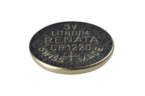 Renata - CR1220 Lithium-Batterie für Uhren, Taschenlampen, kleine Werkzeuge, etc.