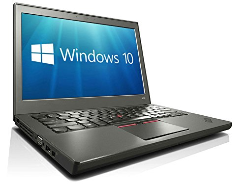 Lenovo ThinkPad X250 Ultrabook 12.5' HD Display Core i3-5010U 8GB 256GB SSD WiFi WebCam Windows 10 Professional 64-bit (Renewed)
