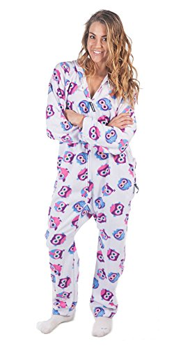 Forever Lazy Adult Onesie - Sleep Owl Day - L