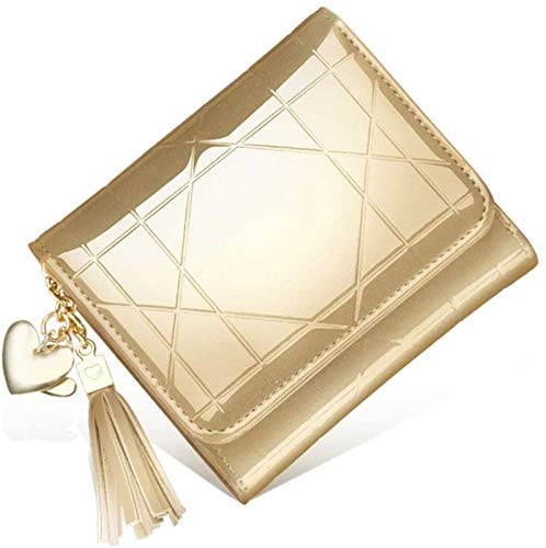 ZHANG Exquisite Compact Wallets For Women, Multifunctional Tassel Wallet, Creative Gift For Girlfriend And Mother,B