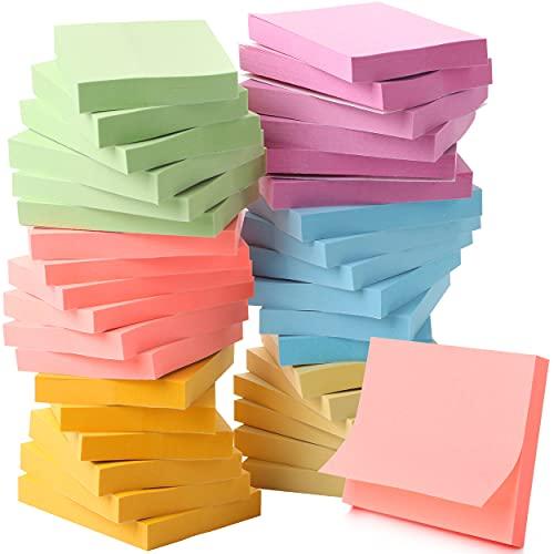 """Mr. Pen- Sticky Notes, 1.5"""" x 2"""" , 36 Pads, Pastel Sticky Notes, Small Sticky Notes, Mini Sticky Notes, Sticky Notes Small, Bible Sticky Notes, Sticky Notes Mini, Little Sticky Notes, Tiny Sticky Note"""