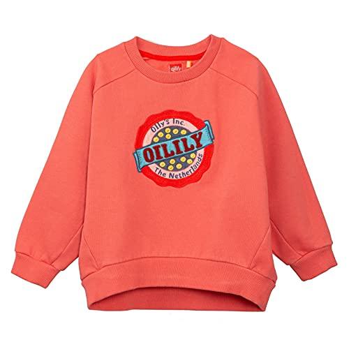 Oilily Mädchen Sweat-Shirt Hogo-128 - Kindermode : Mädchen