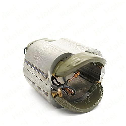 ndliulei Campo de estator AC 220 V / 240 V para Bosch GWS6 GWS 6 GWS 6-100 GWS6-100 GWS 6-115 GWS6-115 Piezas de Repuesto de Amoladora Angular 1604220328