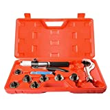 Lever Hydraulic Tube Expander Tool Swaging Kit HVAC 3/8, 1/2, 5/8, 3/4,1,1-1/8 Inch O.D.Tubing