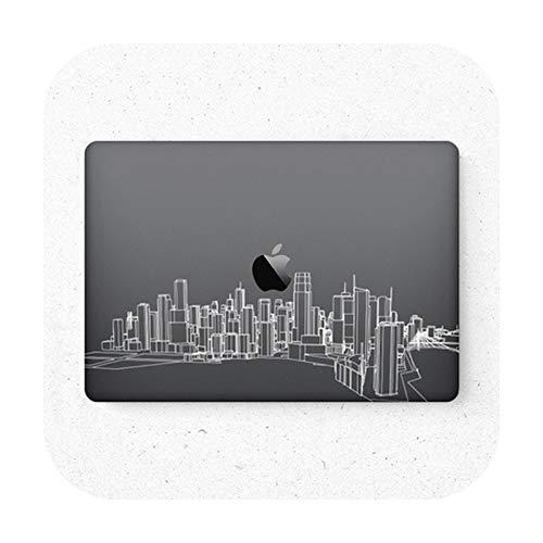 Funda protectora para MacBook Pro Air 11 13 15 Retina de cuerpo completo, protector de la piel de la cubierta del ordenador portátil, 4-Air11 A1370 A1465