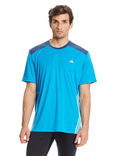 Adidas Męska bluzka Cl Emid, niebieska, L